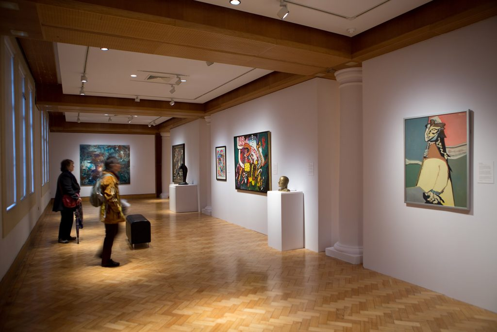 City Art Centre interior - Jagged Generation exhibition (Photo © Alan Laughlin)