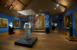 Russia exhibition palace of Holyroodhouse,Edinburgh.Photograph David Cheskin.06.2019